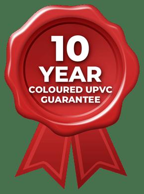 10 Year Coloured UPVC Guarantee