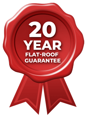 20 Year Flat-Roof Guarantee
