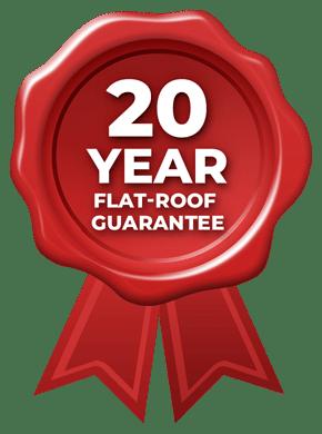20 Year Flat-Roof Guarantee