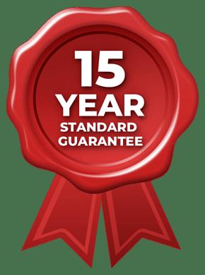 15 Year Standard Guarantee